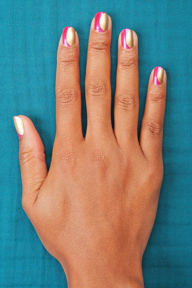 """Nail Art's New Wave: Flash Back To The '60s With The """"Mod World"""" #refinery29"""