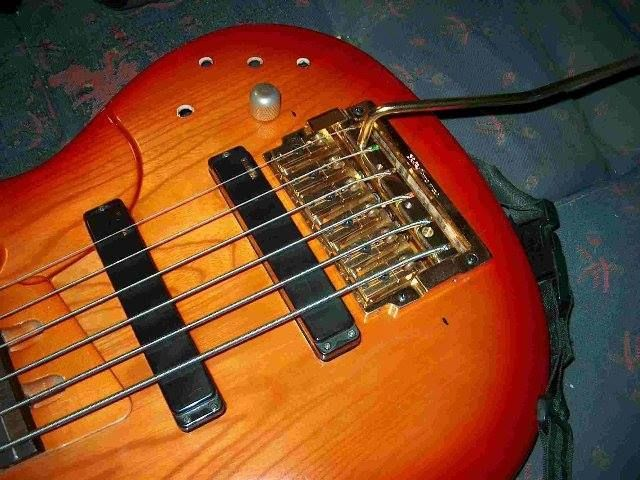 17 best images about bass guitars with kahler tremolo for Yamaha 6 string bass