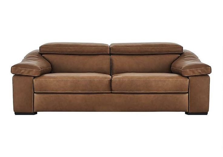 Natuzzi Editions Sanremo 3 Seater Leather Sofa Stylish modern leather sofa Upholstered in semi aniline leather in a choice of colours Roomy, superbly comfortable seat with low back cushions and arm pads ]]> http://www.MightGet.com/january-2017-11/natuzzi-editions-sanremo-3-seater-leather-sofa.asp