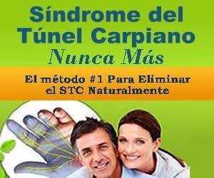 Tratamiento natural para el síndrome del túnel carpiano