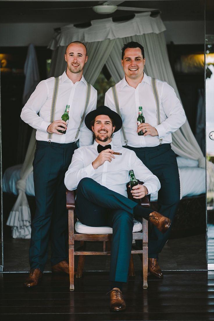 Bohemian Men's Wedding Wear