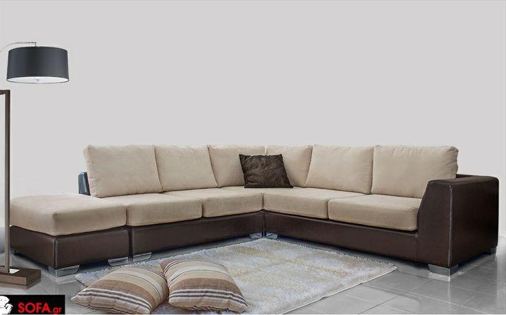 Γωνιακός Καναπές Καραμέλα http://sofa.gr/saloni-gonia-karamela