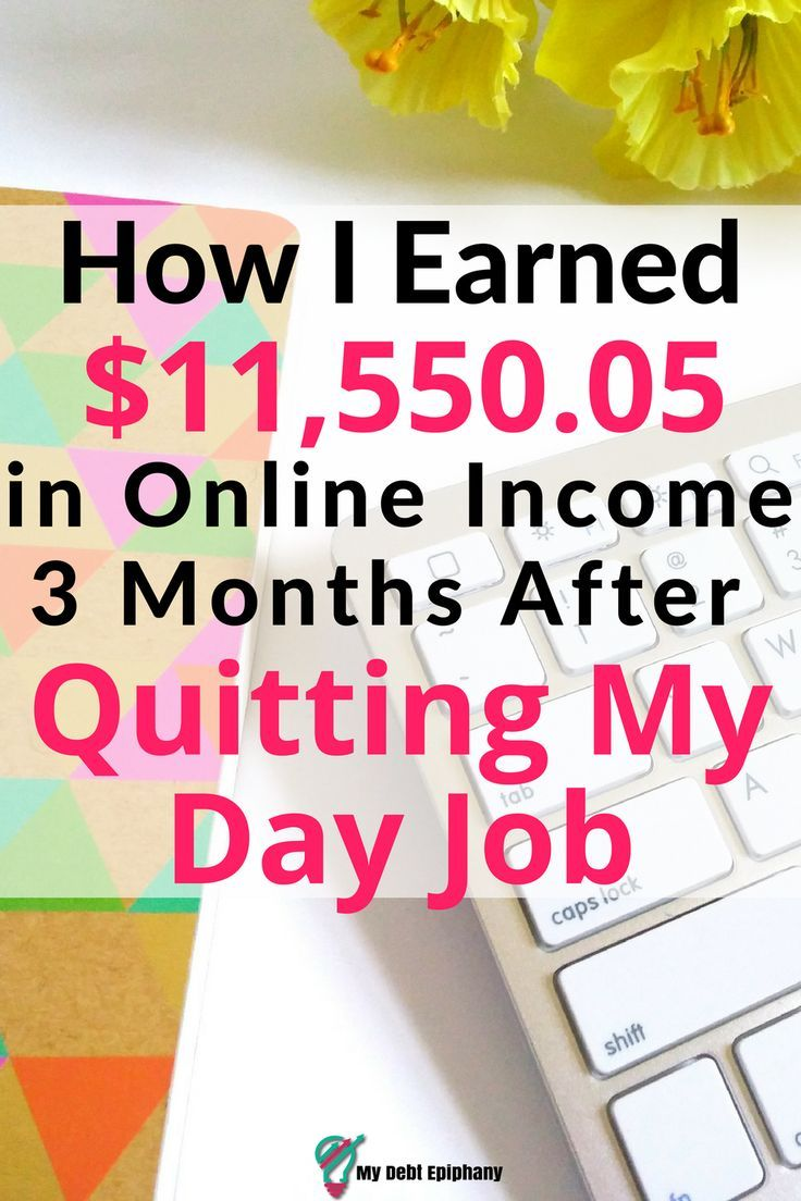 How I earned almost $12k after quitting my job