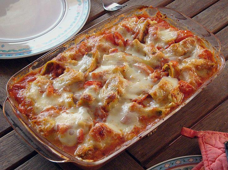 Maultaschenauflauf, italienische Art, ein schönes Rezept aus der Kategorie Gemüse. Bewertungen: 54. Durchschnitt: Ø 4,0.