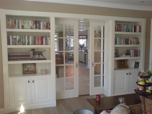 25 best ideas about boekenkast deur op pinterest geheime kamerdeuren verborgen deur - Behang ingang gang ...