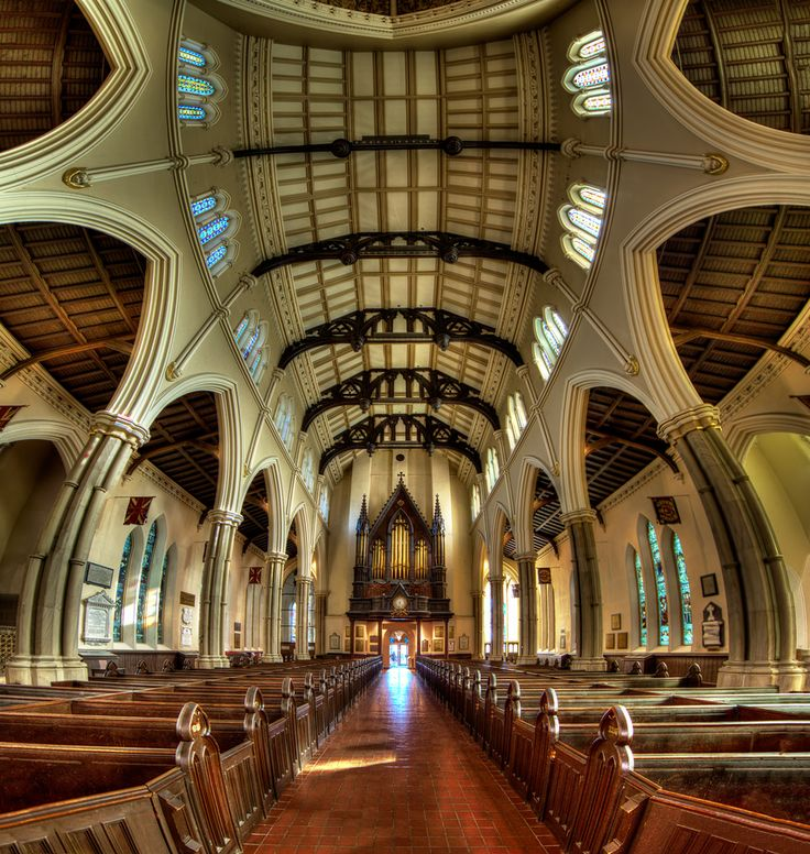 St. James Anglican Cathedral, Toronto, Ontario, Canada; photo by Roland Shainidze