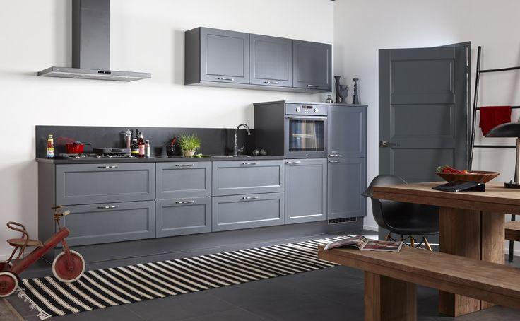 Grijze Bruynzeel Keuken : Images about onze keukens on ikea oxfords ...