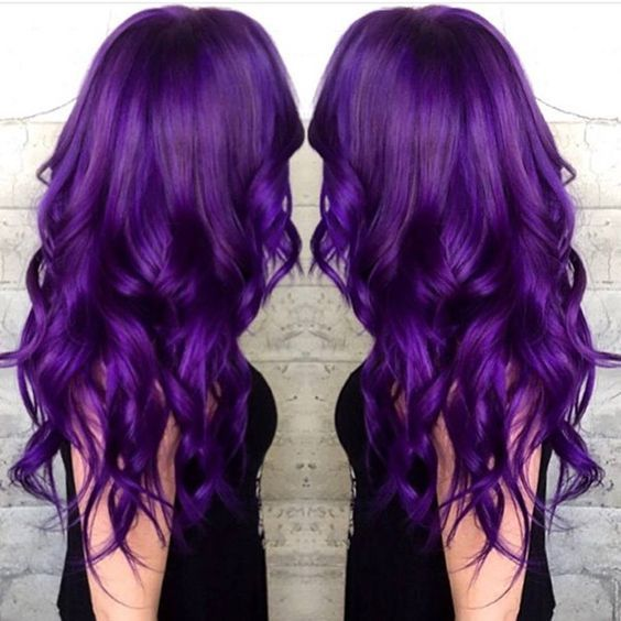 Voilet waves, incredible nice purple hair color idea to try. Are you looking for dark burgundy plum violets purple hair color highlights lowlights for New Years? See our collection full of dark burgundy plum violets purple hair color highlights lowlights for New Years and get inspired!