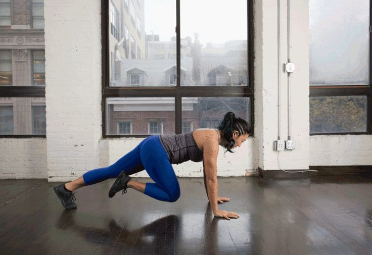 5. Mountain Climber to Single Leg Push-Up #bodyweight #workout #tabata http://greatist.com/fitness/best-tabata-moves
