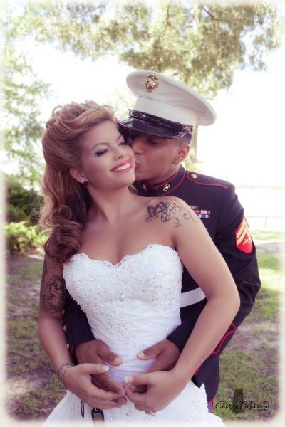 20 best images about tattooed brides on pinterest for Tattoos and wedding dresses