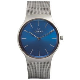 Obaku offers men designer watches at discount rate. We have huge collection of stylish, danish and classic watches that make statement on wrist after wearing in hand.