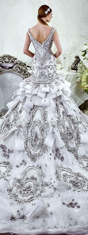 Dar Sara wedding dress, 2014 bridal collection