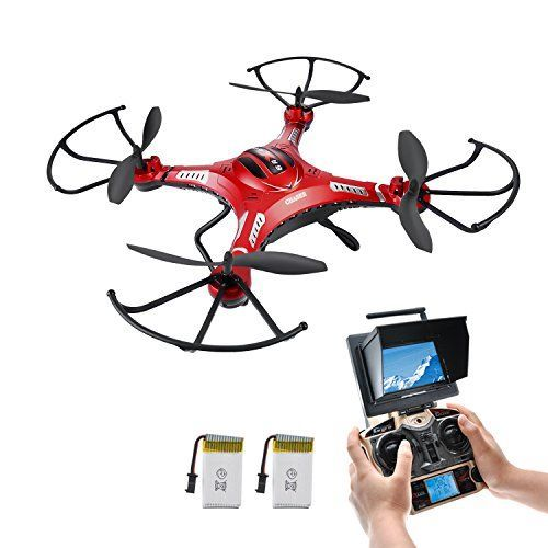 NEW FEATURE - HOVER DRONE, Potensic® 5.8GHz FPV Monitor 4CH 6-Axis Gyro RC Quadcopter Drone with HD Camera, 3D Flips Function - http://www.midronepro.com/producto/new-feature-hover-drone-potensic-5-8ghz-fpv-monitor-4ch-6-axis-gyro-rc-quadcopter-drone-with-hd-camera-3d-flips-function/