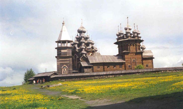 Kizhi island,Russia