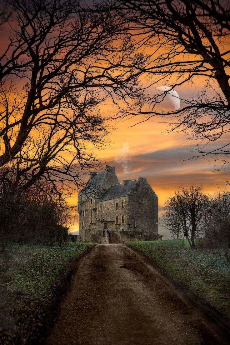 Lallybroch, Scotland.