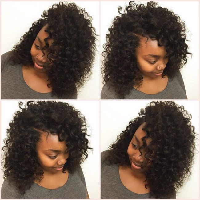 Top Best 25+ Curly sew in ideas on Pinterest | Ombre hair weave, Braid  YV36