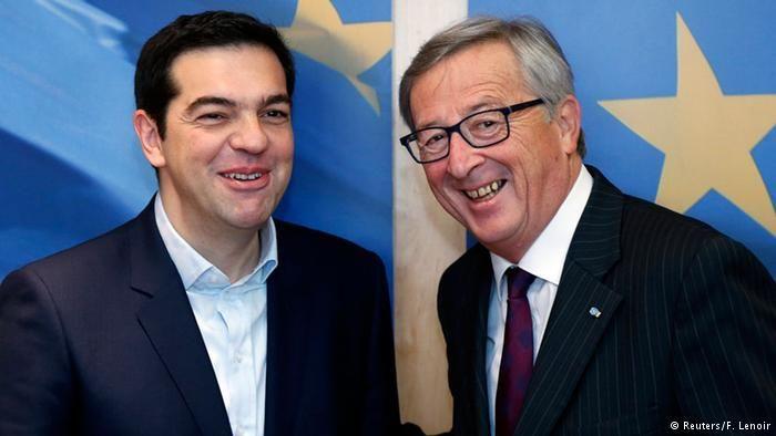 «'Εκκληση βοήθειας του Τσίπρα προς τον Γιούνκερ»