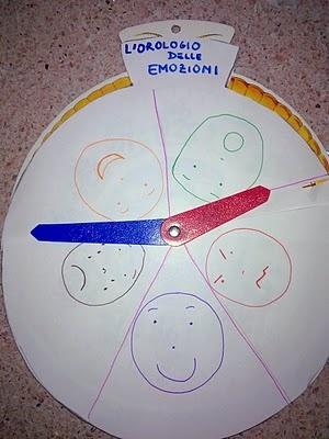 L'orologio delle emozioni | Paroledilatte