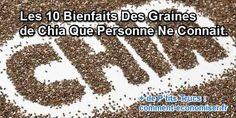 Depuis des millénaires, les graines de chia constituent une des denrées principales de l'alimentation sud-américaine. Chez nous, ce n'est qu'au cours de ces dernières années qu'on considère ces petites graines comme un « super-aliment ». Alors comment vont-elles améliorer votre santé ? Découvrez l'astuce ici : http://www.comment-economiser.fr/bienfaits-graines-de-chia.html?utm_content=buffer4cbf7&utm_medium=social&utm_source=pinterest.com&utm_campaign=buffer