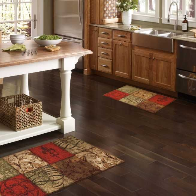 50 Unique Kitchen Flooring Ideas For A Lively Step Houseminds Kitchen Rugs Washable Kitchen Rug Kitchen Mats Floor