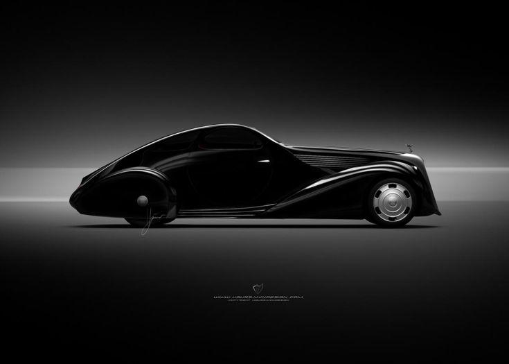 Угур Сахин доработал Rolls Royce Jonckheere Aerodynamic Coupe