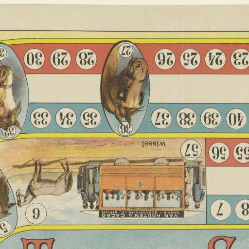 Tramway spel, Jan Vlieger, c. 1885 - Rijksmuseum