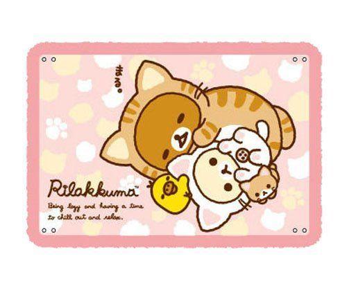 New! Rilakkuma Cat 4way Blankets RK-0715 San-X Japan F/S #SanX