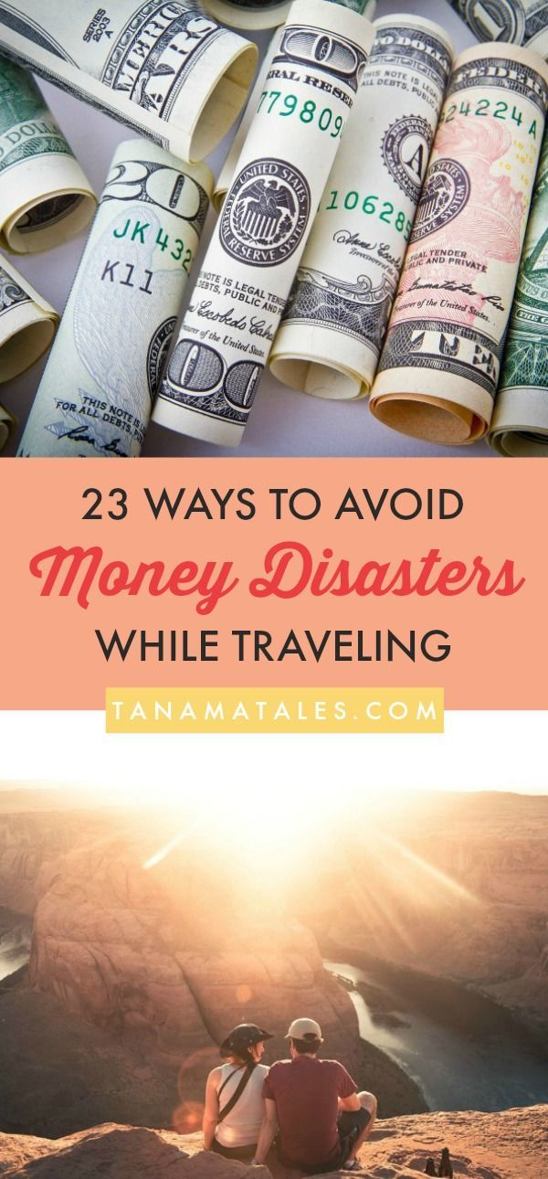 Money tips, tricks and hacks – 23 ideas on how to avoid money disasters while traveling - We want our money to go a long way and buy us things that matter. Therefore, here are some suggestions on how to keep your money safe and working hard for you.  Read on 'cause this post goes beyond the money belts and pouches!