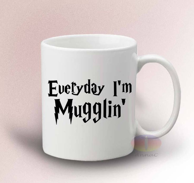 Everyday I'm Mugglin' Mug Harry Potter 11oz