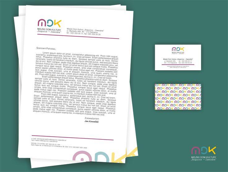 projekt identyfikacji wizualnej MDK