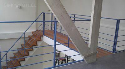 Simply Steel stalen trappen | http://www.simply-steel.nl