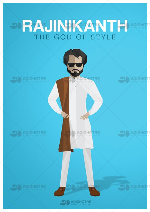 Design tribute to the God of Style Rajinikanth. Tools Used: 80% Ai + 20% Ps = Magic Time Taken: Conceptualisation + Designing = 5 Hours December 12th is Rajnikanth's birthday, his fans around the world worship him as a god and they celebrate it as a 'Style Day'. Happy Birthday #Rajinikanth.
