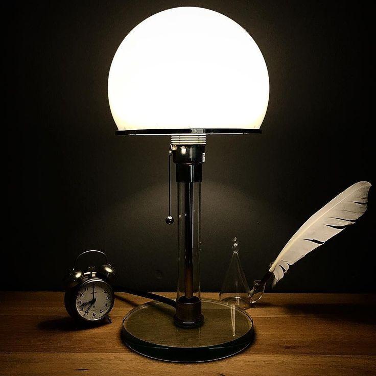 goodnight Wilhelm Wagenfeld Lamp, 1924   Wagenfeld ...