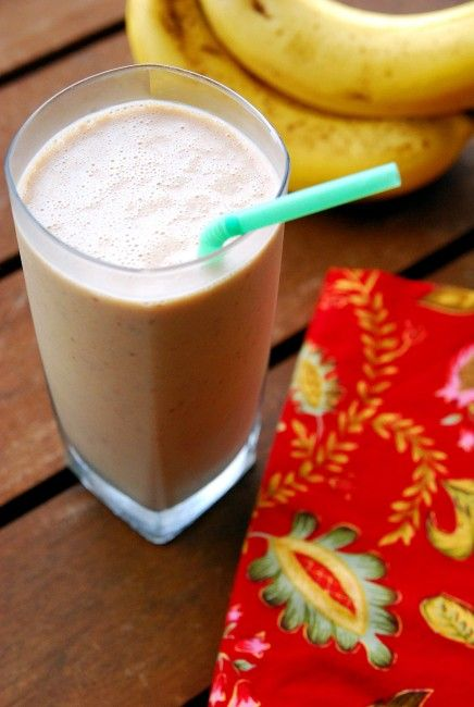 My morning ritual: Coffee banana smoothie #BabyCenterBlog