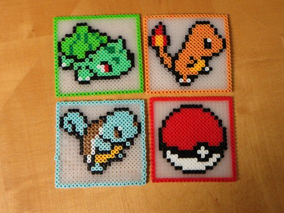 Pokemon Coasters by kiimberrr on Etsy
