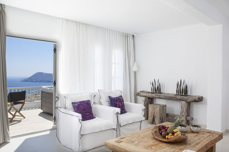High-end accommodation artfully designed for an exclusive 5-star holiday experience ! #Experience #Mykonos #Resort #Incredible #MyconianVillaCollection