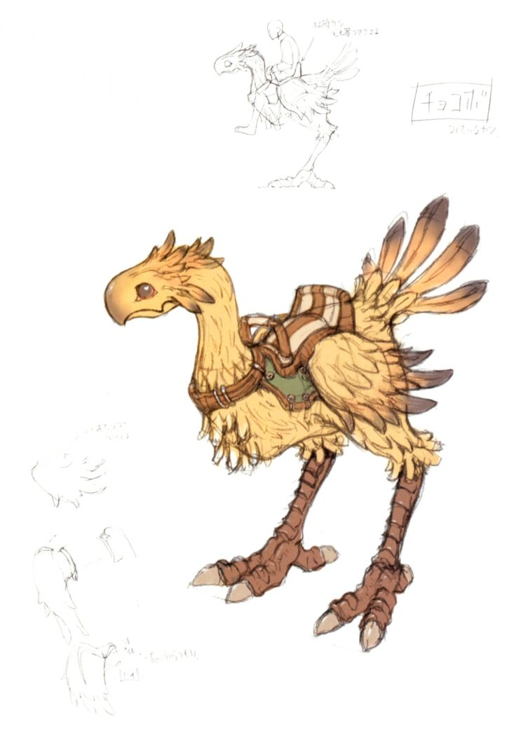 chocobo | Chocobo (Final Fantasy XI) - The Final Fantasy Wiki has more Final ...