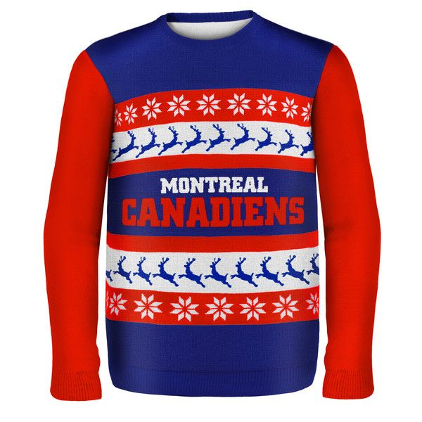 Montreal Canadiens NHL Ugly Sweater Wormark available at uglyteams.com. Check out uglyteams.com for other merchandise and accessories!