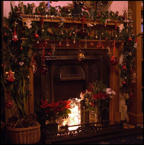 1000 Images About Ideas Pet Decor On Pinterest: 1000+ Ideas About Christmas Fireplace Decorations On