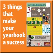 3 things that can make your yearbook a huge success