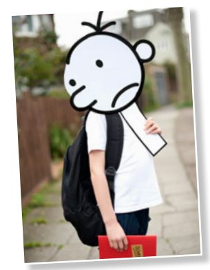 Dress up as Greg Heffley with this easy to make Wimpy Kid ...