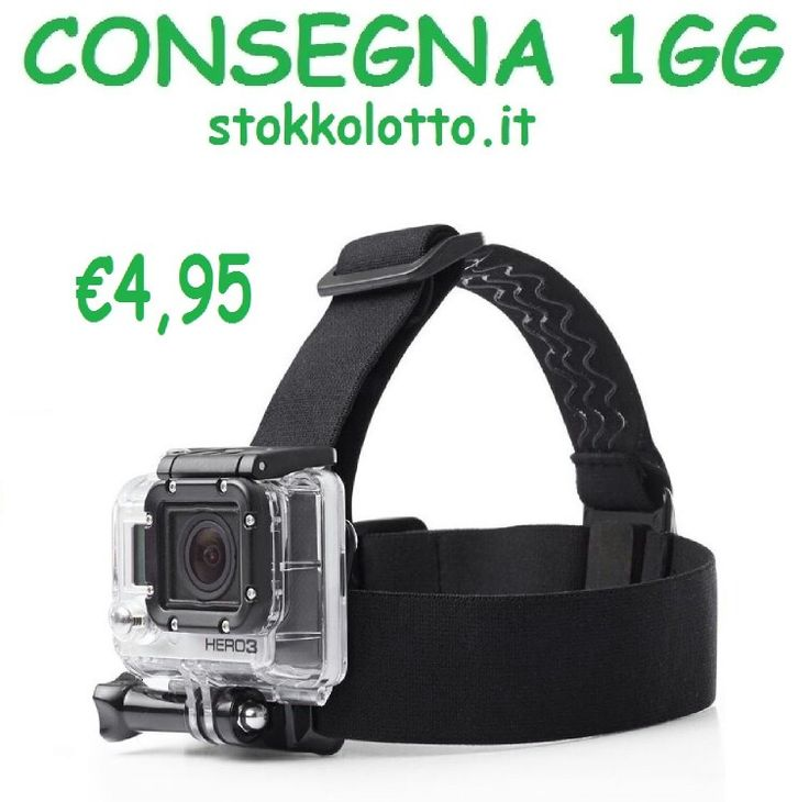 €4,95 - headband Supporto Testa Casco Fascia elastica http://stokkolotto.it attacco Accessori action cam compatibile con tutte le marche action cam così come compatibile con gopro hero 3 3+ 4 5 session Rollei 330 rollei action cam 300 rollei action cam 430 rollei actioncam 425 rollei 300 plus rollei action cam 300 rollei actioncam 300 plus lightdow ld4000 ld6000 Floureon Veho Qumox sj4000 sj5000x elite edition sj5000+ sj6000 plus ultra full hd 4k Qumox M10 12MP wifi plus Qumox sj6000 s6j 4k…
