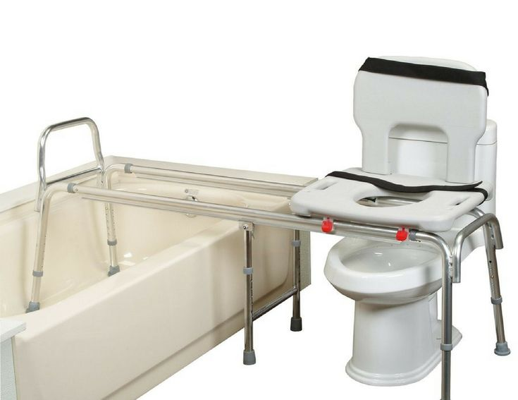 XX Long Toilet to Tub Transfer Bench - 67993 - LiveOakMed.com