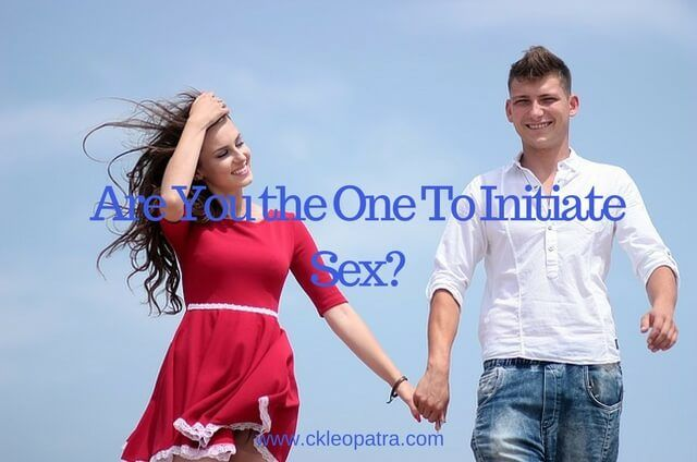 Are You The One Who Initiates Sex?