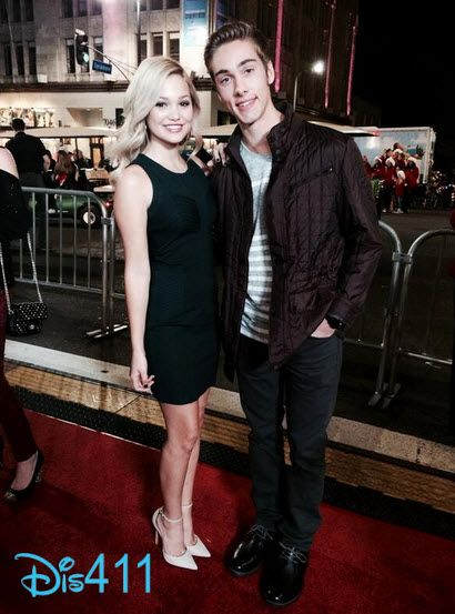 """Video: Olivia Holt And Austin North Talked About """"I Didn't Do It"""" While At The Hollywood Christmas Parade"""
