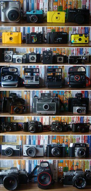 that's a lot of pretty pretty cameras