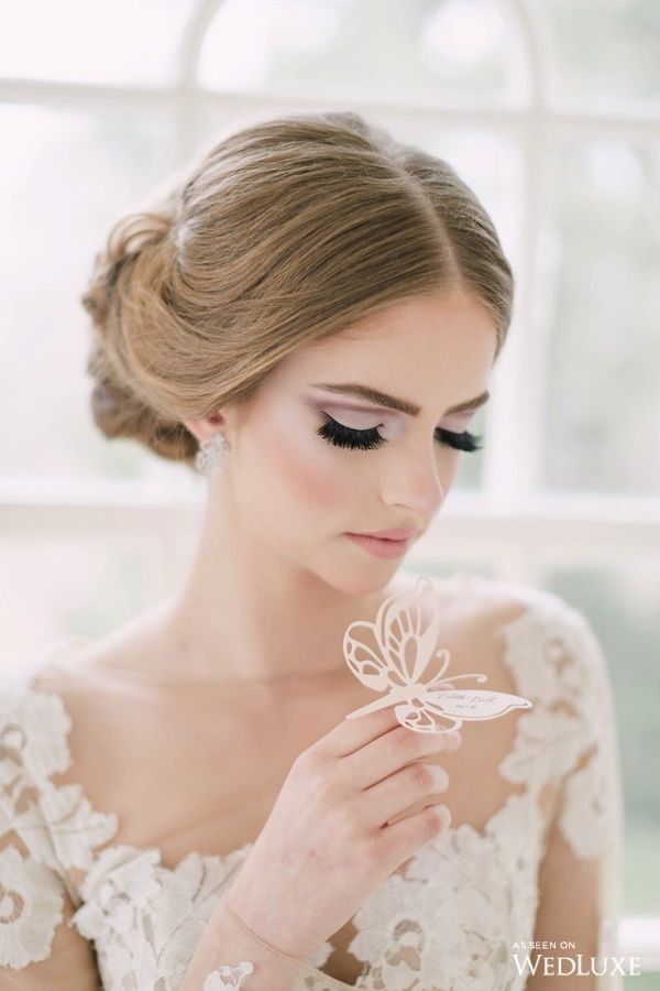 WedLuxe– A Lush, Soft-Hued Styled Shoot Inspired by an Airy, Enchanted…
