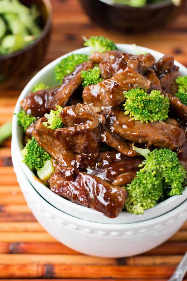 This easy beef and broccoli recipe is one of our favorite easy dinners to make and it all comes together in around 20 minutes!