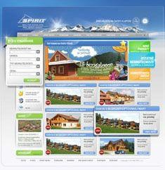 RK Spirit agency webdesign by Artlandia