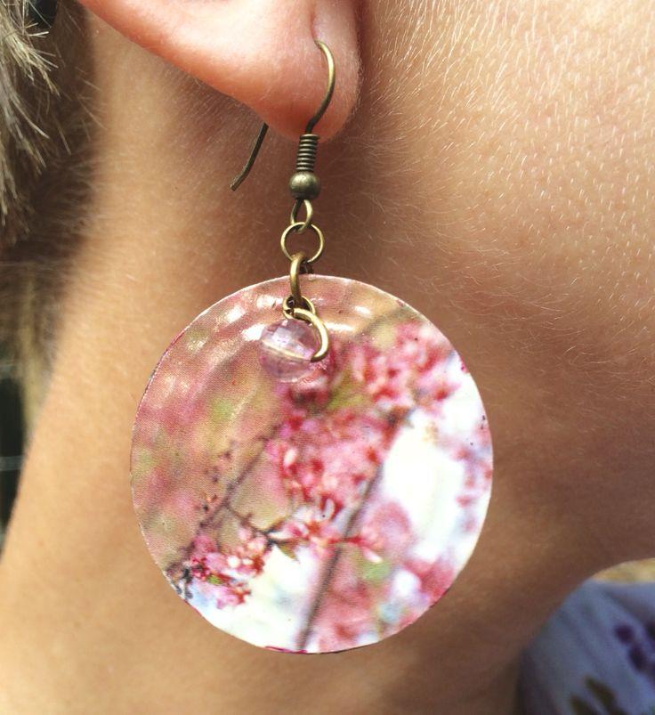 Earring Cherry Blossom $50,00